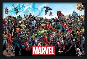 Marvel - Universe Innrammede plakater