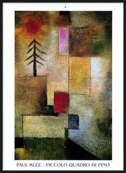 P.Klee - Piccolo Quadro Di Pino Innrammede plakater