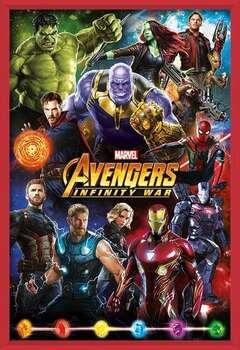 Avengers: Infinity War – Characters Innrammede plakater
