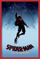 Spider-Man: Into The Spider-Verse – Fall Innrammede plakater