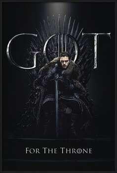 Game of Thrones - Jon For The Throne Innrammede plakater
