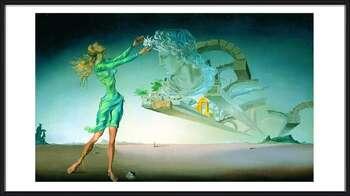 Salvador Dalí – Mirage Innrammede plakater