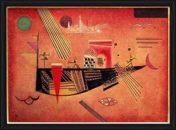 Wassily Kandinsky - Whimsical Innrammede plakater