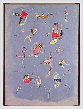 Wassily Kandinsky - Sky Blue Innrammede plakater