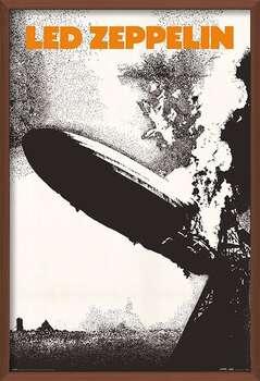 Innrammet plakat Led Zeppelin - Led Zeppelin I
