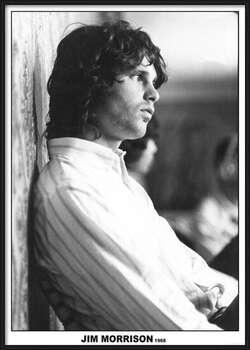 Innrammet plakat Jim Morrison - The Doors 1968