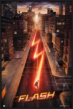 Innrammet plakat The Flash - One Sheet