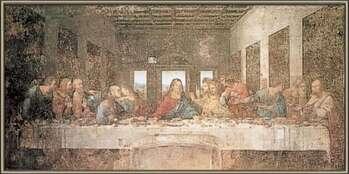 Innrammet plakat The Last Supper