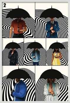 Innrammet plakat The Umbrella Academy - Family