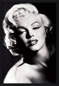 Innrammet plakat Marilyn Monroe - glamour