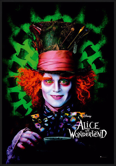 ALICE IN WONDERLAND - mad hatter Plakater